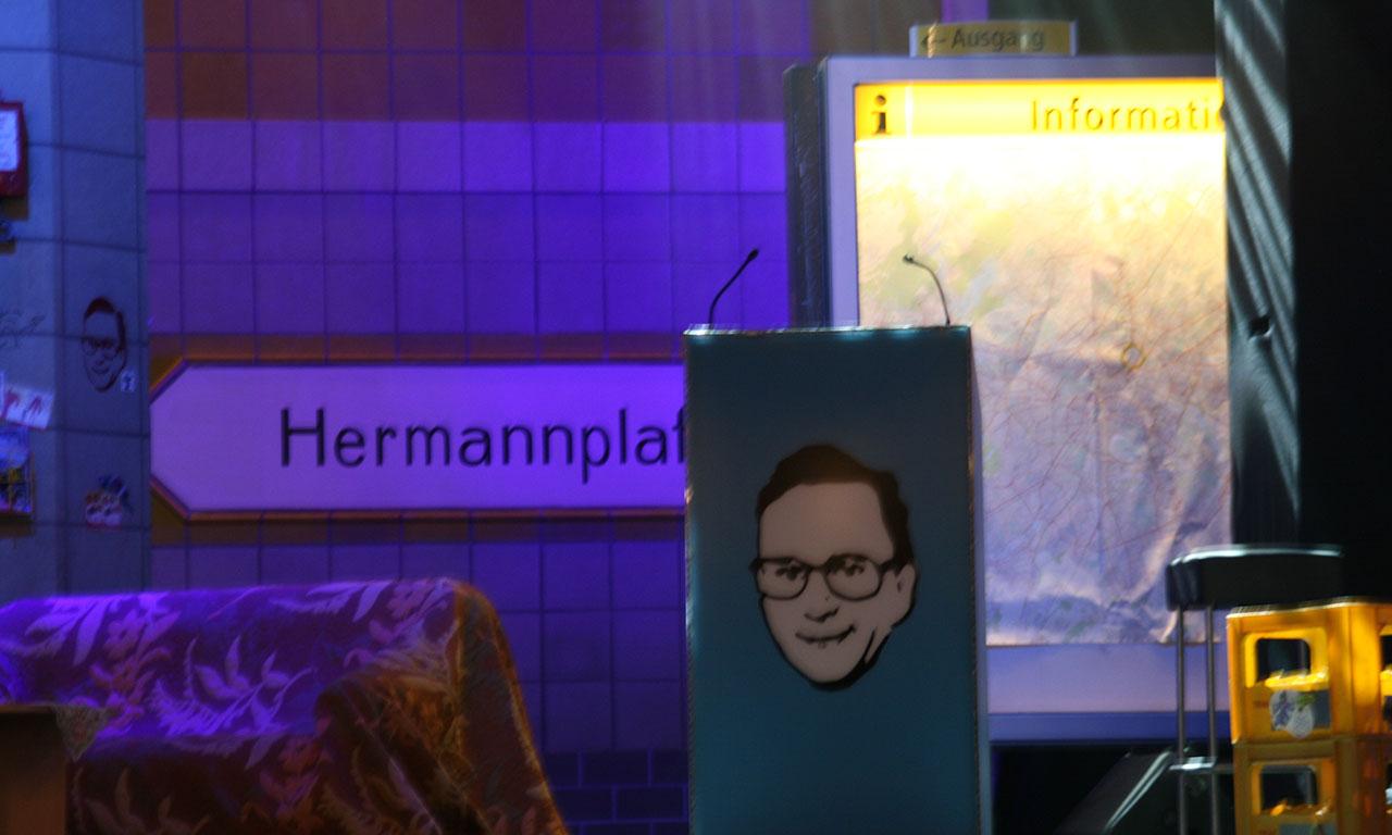 referenz Bühnenset Kurt Krömer 2012