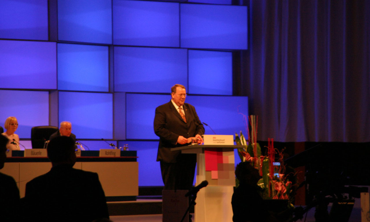 referenz dbb Gewerkschaftstagung 2007