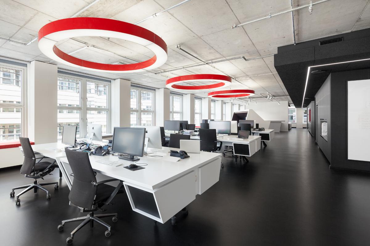 referenz Büroetage Ausbau 2016